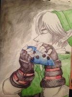 Link Christmas present for friend by jnerdfighter