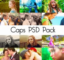 Caps PSD Pack by elliconic