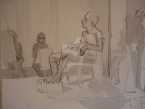 Figure II InClass Drawing 7 by TheCelticViking