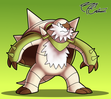 Chesnaught by MrBigTheArtist