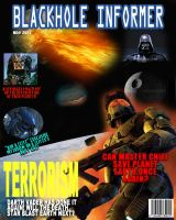 Science Fiction Magazine Cover by Ed5070