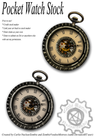 Pocket Watch stock- FREE by ZombieVoodooMistress