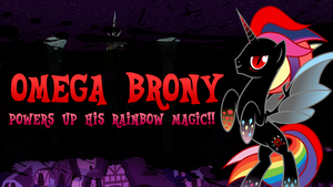 Super Smash Ponies New Challenger: Omega Brony by DashieMLPFiM
