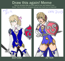 Draw This Again Meme - Cassandra by Mr-Sage