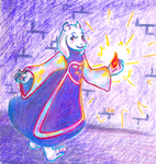 Undertale: Magic Monster Mom by stevobread
