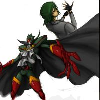 CR-DARKGREEN by the-hary