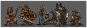 DnD 4e Party VI by hangemhigh13