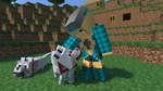 Me and My dogs by HokuMINECRAFT