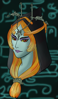 Midna (colored) by NeoArtemiss