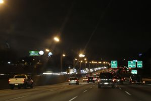 Atlanta High way by foxsilong