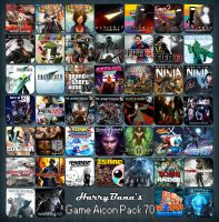 Game Aicon Pack 70 by HarryBana