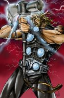 Ultimate Thor colored by jlonnett