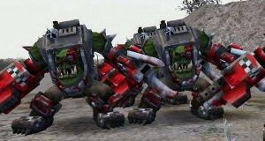 mega armoured nobz by Cptspalding45