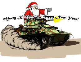 Happy Tank-mas! by ThomChen114