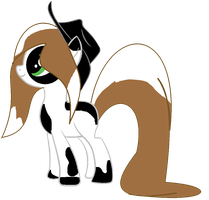 Cowgril Pony Adopt CLOSED by Casey-the-unicorn