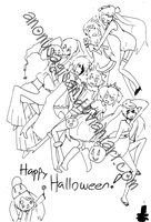 Happy Halloween - VOCALOID by AnonUsagiSan