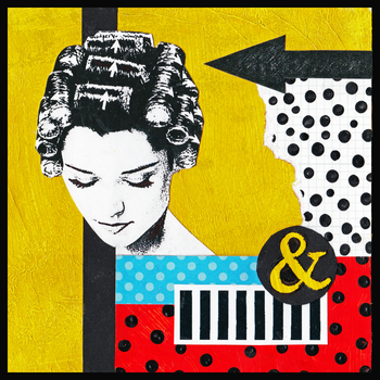Curlers and Polka Dots by Glenyss