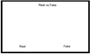 Real vs. Fake Meme by SmallCreationsByMel