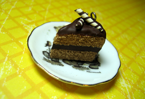 Chocolate lovers cake by Shacchan