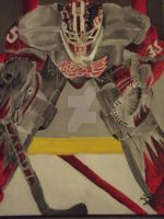 First Ever Jimmy Howard Painting. by Drivin-Impala