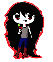 Marceline Vampire2 by Longownica