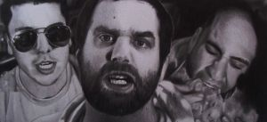 Epic Meal Time Drawing by Lewis3222