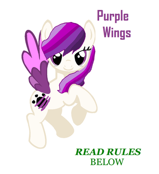 Purple wings by bronylover456789