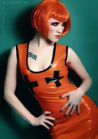 Orange. latex. by Ryo-Says-Meow