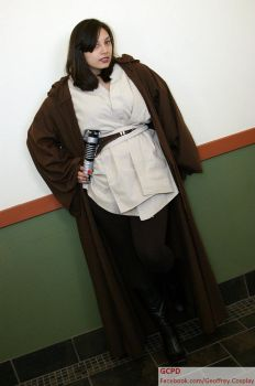 Lady Jedi at Lonestar Comic Con by MadLoveVivienne