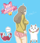 Bee and Puppycat by Mars345