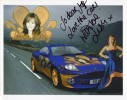 Lisa Kelly Autograph by JRRacing64