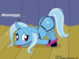 Trixie is a little tied up right now. by The-sinful78