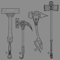 Concept Hammers by LaJolly