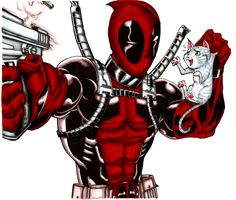 Hero 3: Deadpool COLORS! by nork