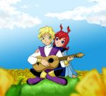 Flower Song by justaminuet