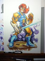 Lion-o 11x17 final by colepetersonart