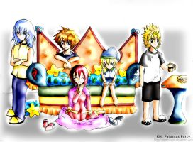KH - Pajamas Party by WeLLe-engeL