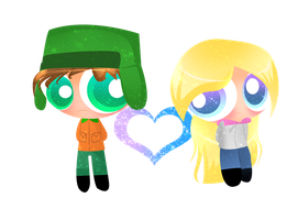 PC-Kyle and Allie by xXBloody-MagicXx
