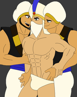 Aladdin - Gagged version by javix94
