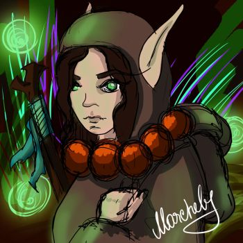 Elf by Marchely