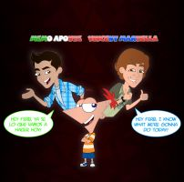 PnF- One character, two voices (Phineas) by RJolih-99