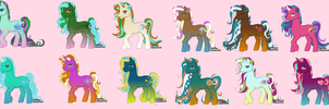 Free adoptables by TearsAndRain8