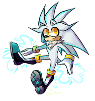 Silver Pixel thingy or smth by BlueStars-BlackIce