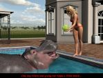 Hilary's Hungry Hungry Hippo (1) by Voremantic