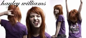 Hayley Williams Blend III by lizzmont