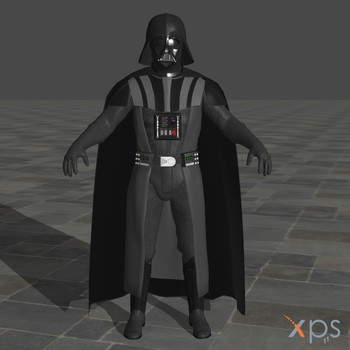 SW Battlefront 2015 Darth Vader for XPS by SaltPowered