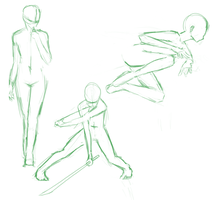 Dynamic Male Pose by NexxD