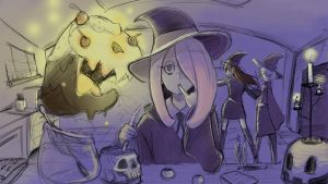 Little Witch Academia by wizard898