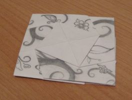 Origami Coaster by solitarymuse