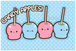 Candy apples by anicsim2